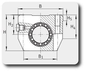 Чертеж цельного комплекта компактной серии KGHK06-PP