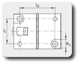 Чертеж закрытого узла легкой серии разрезного вид Б