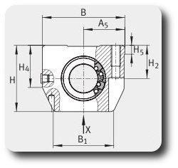 Подшипниковый узел KGN30-C-PP-AS